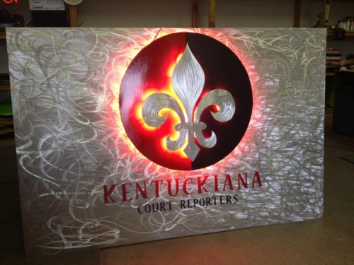 lighted led sign,lighted led in red led sign